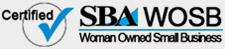 Certified Woman Owned Small Business Logo